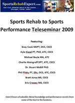 Sports Rehab to Sports Performance - Downloadable Version